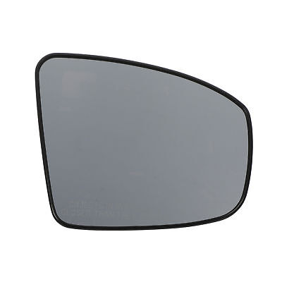 Rear Side Glass - 2009-2013 Nissan Murano Right Passenger Exterior Side Rear View Mirrow Glass OEM