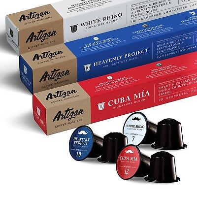(100% USDA Certified Organic Coffee - Nespresso Compatible Pods - Variety Pack)