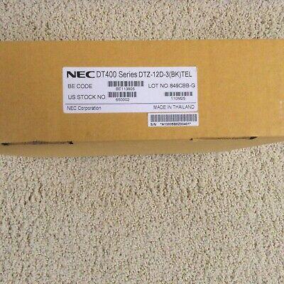 Nec Dt400 Series Dtz-12d-3 Bk Telephone Stock 650002