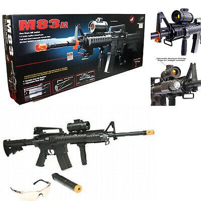 AirSoft AEG M16 Automatic Electric Gun Assault Rifle M83A2 M83 M4 Replica Gun 2 Airsoft M16 Rifles