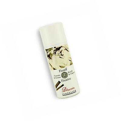 Sennelier Delacroix Fixative 400Ml Spray,Clear,400 ml