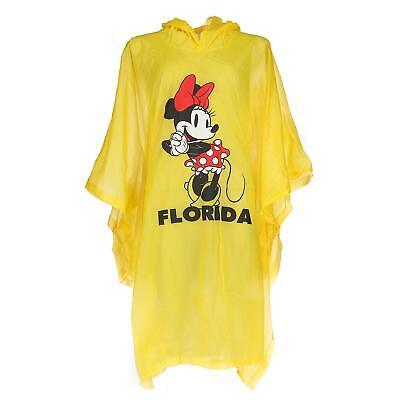 New Disney Women's Minnie Mouse Florida Rain Poncho