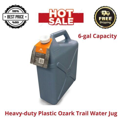 Heavy-duty Plastic Ozark Trail 6-Gal Water Jug,6-gal Capacity, New