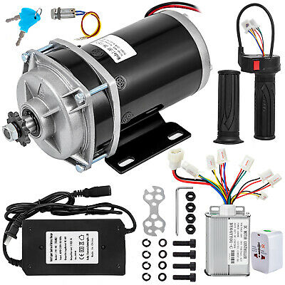48v Dc Motorelectric Motor Gear Reduction 1000w Powerful Magnet Efficiency