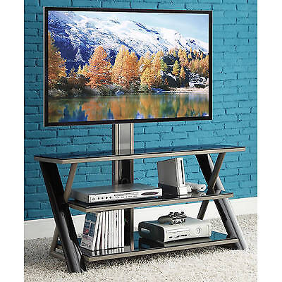 مكتبة تلفزيون جديد Whalen 3-in-1 Flat-Panel TV Stand, for TVs up to 50""