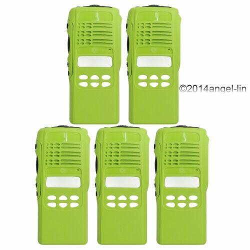 Lot 5  Green Limited-Keypad Housing Cover Case for Motorola HT1250 2Way Radio