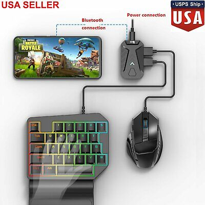 PUBG Mobile Gaming Keyboard Mouse Adapter Converter for Android IOS iPhone Free