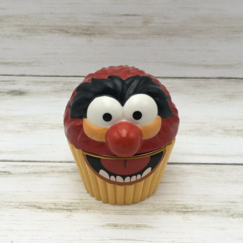 Hallmark The Muppets Ceramic ANIMAL Cupcake Music Trinket Box