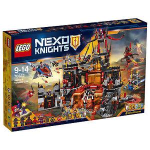 LEGO NEXO KNIGHTS Jestros Vulkanfestung (70323), zum Teil mit anderen Figuren