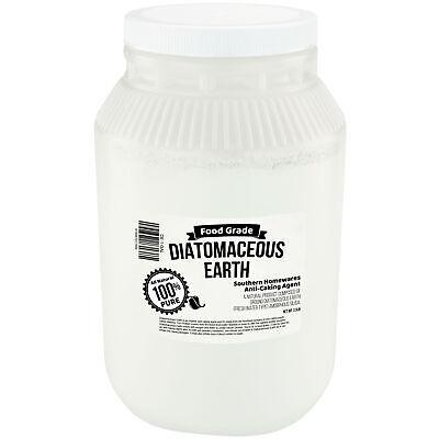 Diatomaceous Earth Supplement FDA Food Grade 2.5 Pound 1 Gallon Jug Anti-Caking Home & Garden