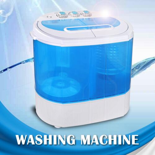 9lbs Mini Portable RV Dorm Compact Washing Machine Spin Drye
