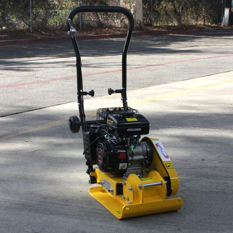 Walk Behind 79cc Gas Vibratory Plate Compactor Asphalt Soil Dirt Rammer