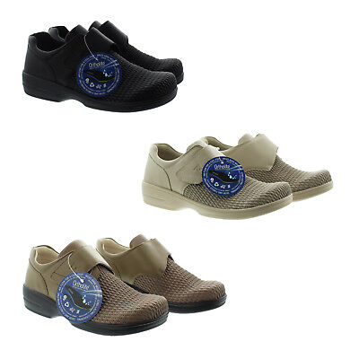 Propet WPRX25 Womens Olivia Oxford Slip On Low Top Diabetic Shoes Propet Womens Oxford