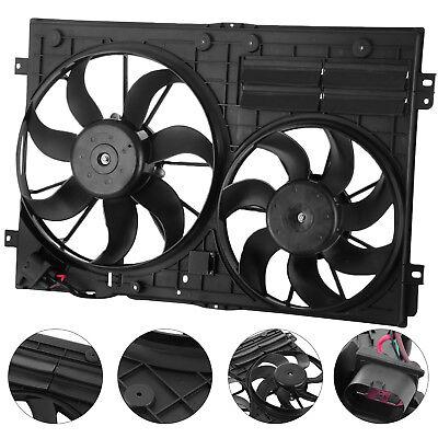 Radiator Cooling Dual Fan For AUDI A3 VW JETTA CC GTI EOS BEETLE HQ 20L 25L