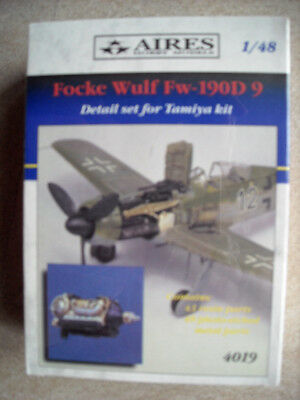 Aires 1/48 4019 Focke Wulf Detail Set for Tamiya Kit