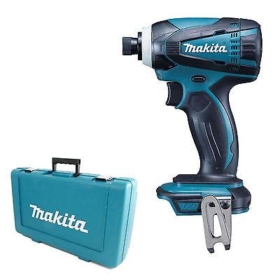 MAKITA 18V LXT DTD146 DTD146Z DTD146RFE IMPACT DRIVER AND PLASTIC CASE DTD152Z