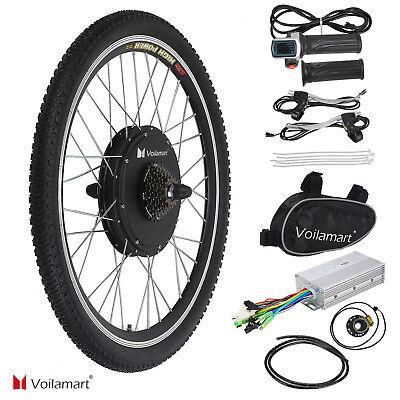 48V 1000W Bicicleta Eléctrica Motor Kit de Conversión Ciclismo Hub 26