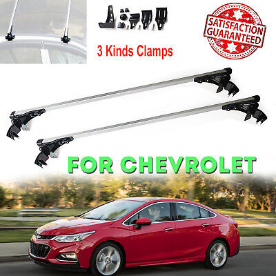Aluminum Car Roof Top Bar Crossbar Cargo Luaage Rack  For Chevy Cruze 2010-2017