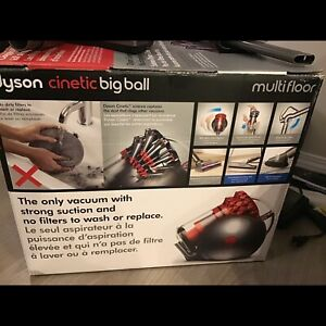 Dyson Cinetic Big Ball Vacuum + Extra tools