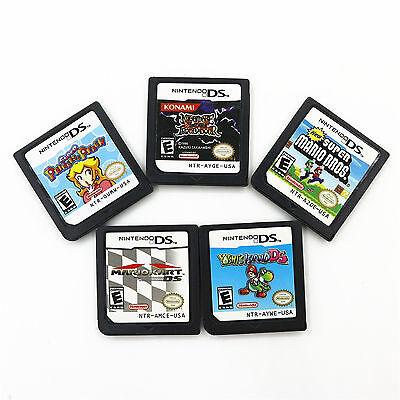 Super Mario Bros   Princess Peach Game Cartridges Card For Nintendo Ds Nds 3Ds