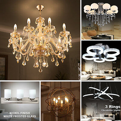 20 Styles Vintage/ Modern Pendant Light LED Ceiling Lamp Bar Chandelier Lighting ()