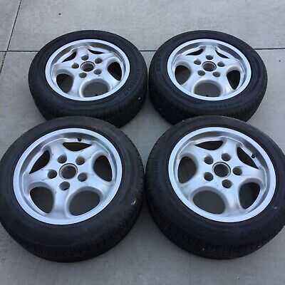 Porsche Non-OEM Replica 94-98 993 964 16x9 Wheels 225/50/16 Tires 99336211801