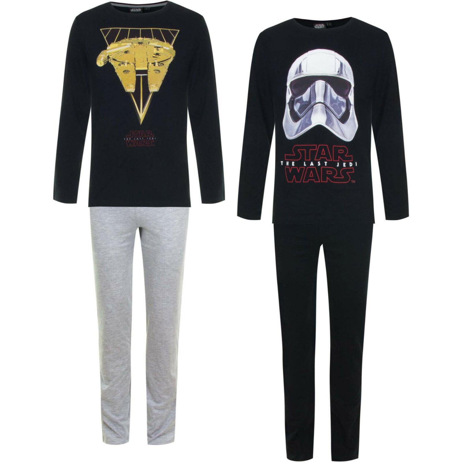 STAR WARS  Herren Pyjama/Schlafanzug 100%Baumwolle    S    M   L   XL