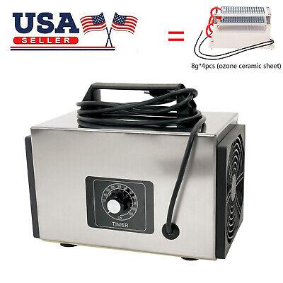 32g/h Ozone Generator Machine Home Industrial Air Purifier Filter Ozonator O3J5