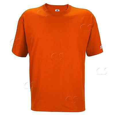 T-Shirt Russell Athletic Men's Texas Orange Short Sleeve 67014MR NWT _312-25
