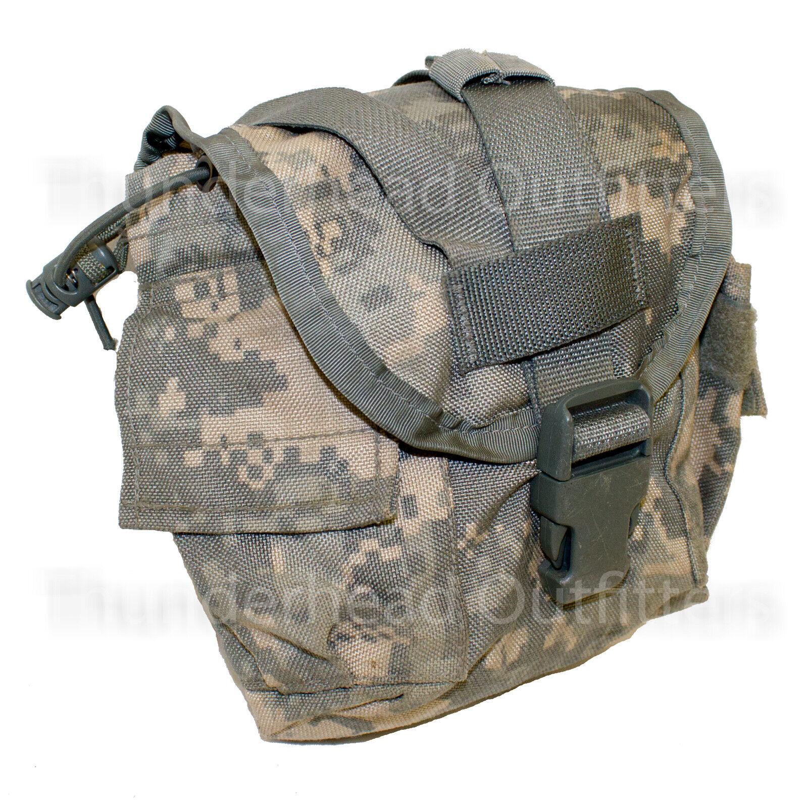 USGI US Army MOLLE ACU Digital 1 QT CANTEEN POUCH Utility Cover 1 Quart CIF