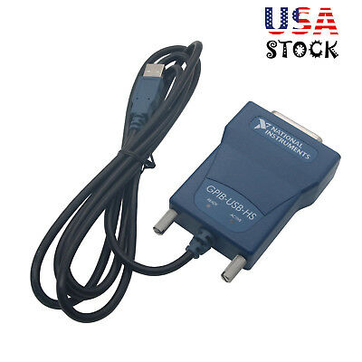 National Instrumens Ni Gpib-usb-hs Gpib Data Acquisition Card 778927-01 Ieee -us