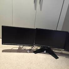 """LG 24"""" Triple Screen Monitors (with stand) - for Trading / Gaming Lane Cove Lane Cove Area Preview"""