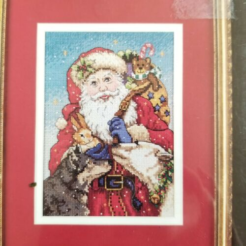 "Dimensions Gold Petite ""Father Christmas"" Santa w/ Animals C"