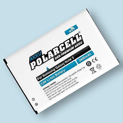 PolarCell NFC Akku für Samsung Galaxy Note 3 GT-N9000 LTE GT-N9005 EB-B800BE III