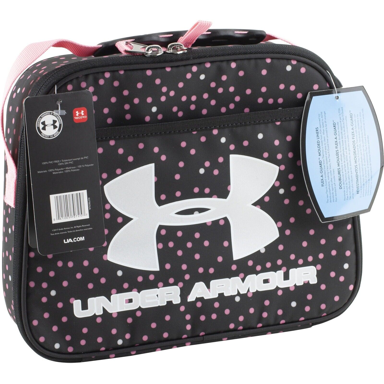 Under Armour Insulated Lunch Box Thermos Flex a Guard Pink P