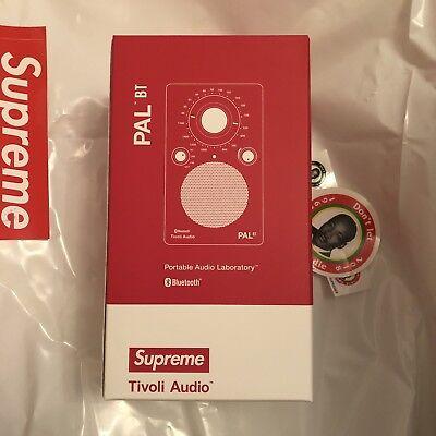 Supreme / Tivoli Pal BT Speaker - Red SS18