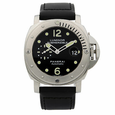 Panerai Luminor Submersible PAM00024 Steel Automatic Men's Watch