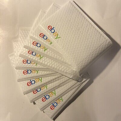 Ebay Branded Bubble Mailers Airjacket Padded Envelopes 6.5 X 9.25 Lot Of 10