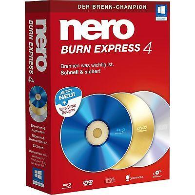 Nero AG BurnExpress 4, CD-ROM, deutsch