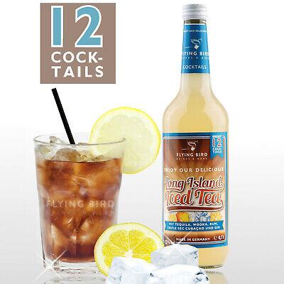 Long Island Iced Tea 32%Vol  - 0,7 l PreMix, Fertigmix für 12 fertige Cocktails Long Island Iced Tea