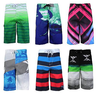 Surf Ocean Men's Beach Sport Swimwear Bathing Suit Trunks Board Shorts