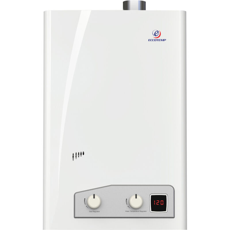 Eccotemp Indoor Forced Vent Natural Gas Tankless Water Heater -4 GPM FV112-NG