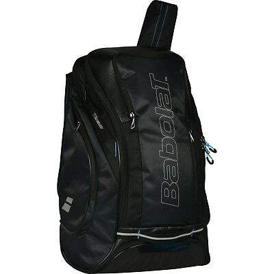 Used, Babolat Team Maxi Tennis Backpack Bag Black Blue Racket Racquet Badminton 753064 for sale  Shipping to United States