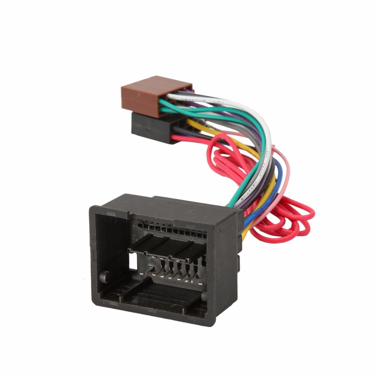 vauxhall insignia 09 u003e iso radio stereo harness adapter wiring rh ebay co uk