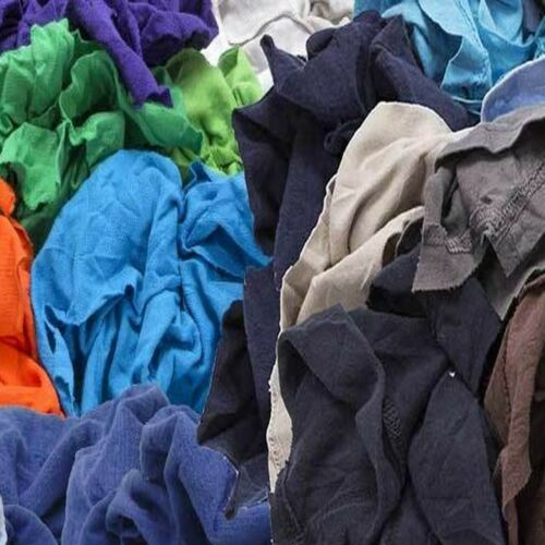 50 Lb. Box of colored shop rags / towels / lint free