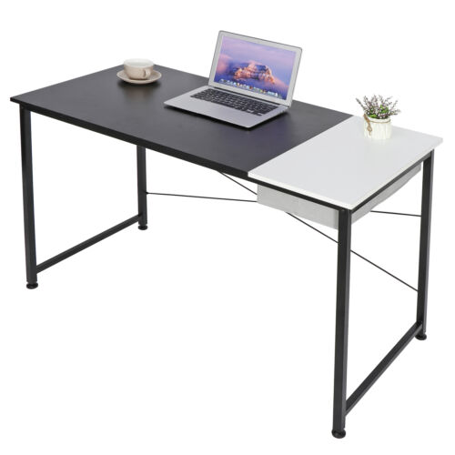 Computer Desk 47″ Home Office Writing Study Laptop Table Modern Simple Style Des Furniture