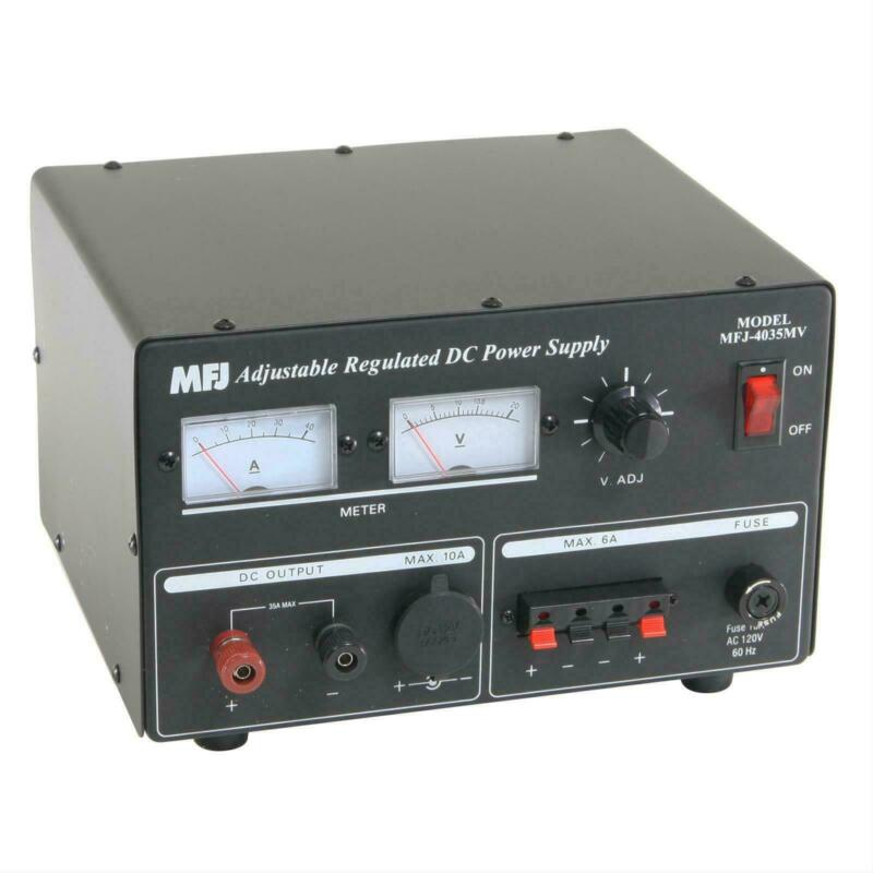 MFJ-4035MV Linear power supply, 1-14VDC, 35Amp With Meters CB & Ham Radio