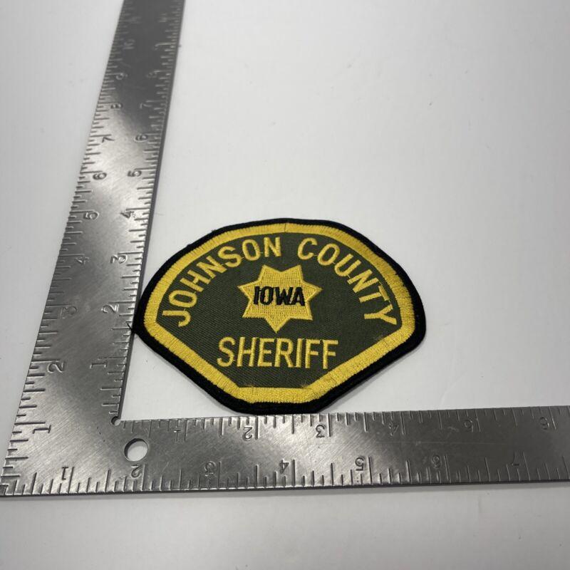 JOHNSON COUNTY IOWA SHERIFF POLICE PATCH
