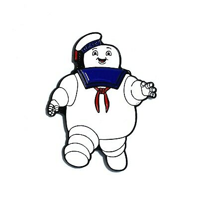 Stay Puft Hat (Ghostbuster Stay Puft Marshmallow Man Collectible Pendant Lapel Hat)