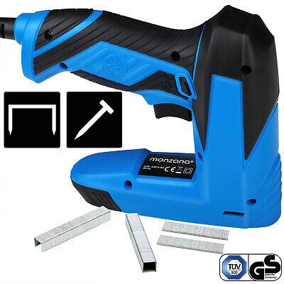 Grapadora eléctrica 30 disparos por minuto grapas 6-16mm clavos de 15-16mm